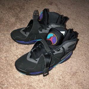 Jordan Retro 8 (Aqua)